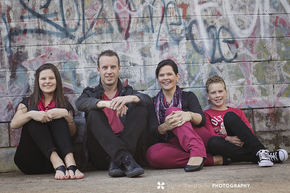 Urban family session Durras skatepark